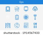 premium set of eps line icons....