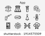 premium set of app  s  icons....