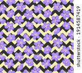 beautiful purple cherry...   Shutterstock .eps vector #1914587419