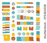 set of speech bubbles. various... | Shutterstock .eps vector #191461028