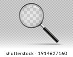 search icon vector. magnifying... | Shutterstock .eps vector #1914627160