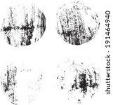 grunge shapes   Shutterstock .eps vector #191464940