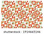 rectangular pattern of... | Shutterstock .eps vector #1914665146