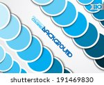 on a gray background blue... | Shutterstock .eps vector #191469830