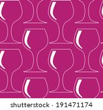 seamless pattern with wine... | Shutterstock . vector #191471174