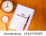 time management concept of...   Shutterstock . vector #1914719599