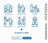 nursing home for elderly people ...   Shutterstock .eps vector #1914724216