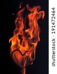 fire flames | Shutterstock . vector #191472464