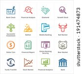 personal   business finance... | Shutterstock .eps vector #191474873