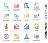 personal   business finance... | Shutterstock .eps vector #191474930