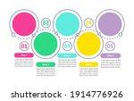 round flowchart vector...   Shutterstock .eps vector #1914776926