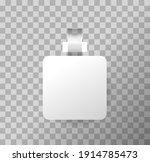 square white paper stickers on... | Shutterstock .eps vector #1914785473