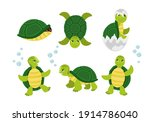 funny cartoon characters of... | Shutterstock .eps vector #1914786040