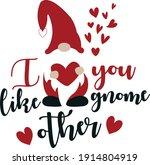 valentine's day vector cutting... | Shutterstock .eps vector #1914804919