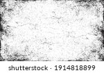 scratched frame. grunge urban... | Shutterstock .eps vector #1914818899