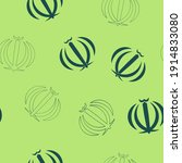 seamless pattern with emblem of ... | Shutterstock .eps vector #1914833080