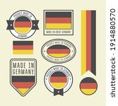 stickers  tags and labels with...   Shutterstock .eps vector #1914880570