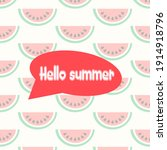 watermelon  fresh and juicy... | Shutterstock .eps vector #1914918796