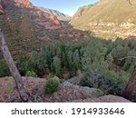 Landscapes From Free Climb At...