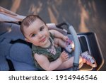 A Cute Little Baby Girl With...