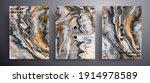 abstract liquid poster  fluid... | Shutterstock .eps vector #1914978589