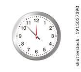 simple silver clock...   Shutterstock .eps vector #1915027390