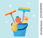set of items for general... | Shutterstock .eps vector #1915039909