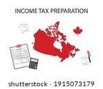 vector illustration for income... | Shutterstock .eps vector #1915073179