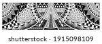 polynesian tattoo pattern maori ... | Shutterstock .eps vector #1915098109