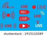 live icons. live webinar button....