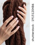 female hand manicure close up... | Shutterstock . vector #1915120486