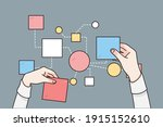 business strategy  planing ... | Shutterstock .eps vector #1915152610