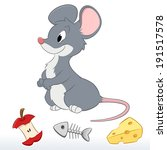 vector illustration of a cute...   Shutterstock .eps vector #191517578