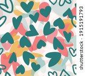 Valentine Love Heart Collage...