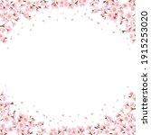 cherry blossoms all around ...   Shutterstock .eps vector #1915253020