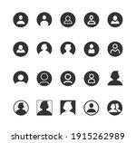 user avatar person user glyph... | Shutterstock .eps vector #1915262989