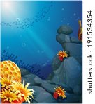 Illustration Of The Corals Nea...