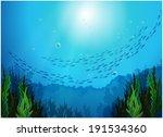 illustration of the school of...   Shutterstock .eps vector #191534360
