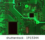 detail of a computer circuit... | Shutterstock . vector #1915344
