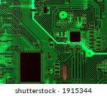 detail of a computer circuit... | Shutterstock . vector #1915344