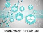 digitally generated medical...   Shutterstock . vector #191535230