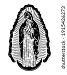 virgin of guadalupe with ...   Shutterstock .eps vector #1915426273