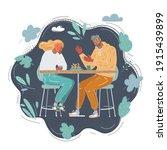 cartoon vector illustration of... | Shutterstock .eps vector #1915439899