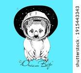 Funny Poster. Koala In A...