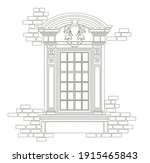 ancient roman and historical... | Shutterstock .eps vector #1915465843