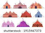 circus tent. amusement park...   Shutterstock .eps vector #1915467373