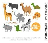 children's educational game.... | Shutterstock .eps vector #1915487080