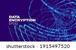 data encryption technology... | Shutterstock .eps vector #1915497520
