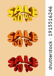 promotional stickers with the... | Shutterstock .eps vector #1915516246