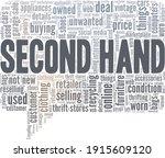 second hand vector illustration ...   Shutterstock .eps vector #1915609120